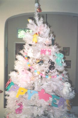 Detail of Easter Tree